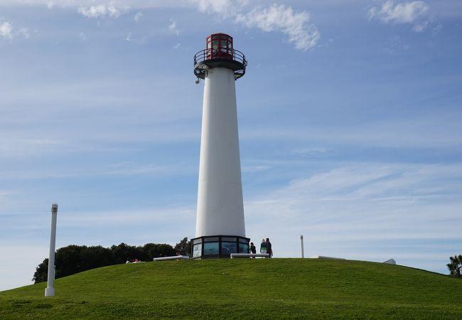 灯台がある公園