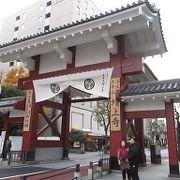 増上寺参道入口の門