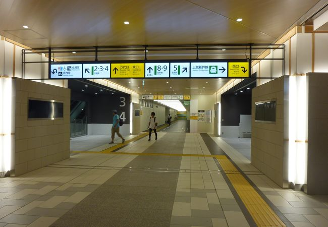 新潟の中心