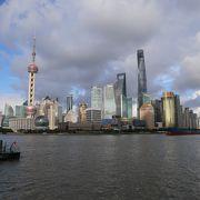ザ上海な景色だけど、混雑覚悟で
