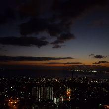 日の出前の明るくなっていく空も美しい