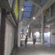 雪の吉祥寺サンロード商店街