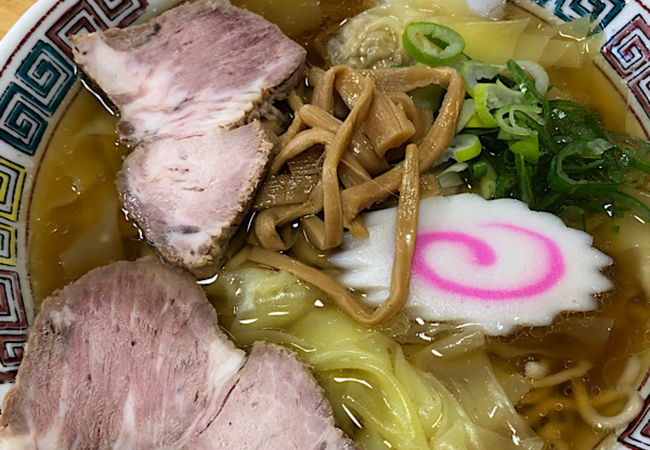 麺もスープも美味しい
