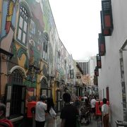 アートが広がる芸術のストリート
