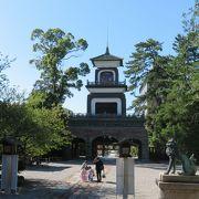 加賀藩祖を祀る尾山神社は見どころ豊富