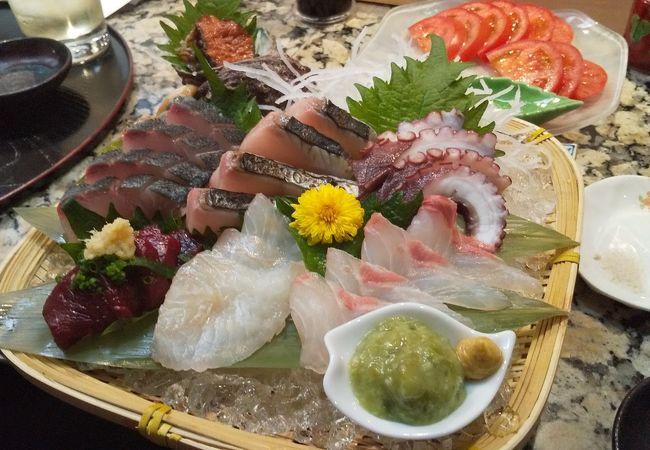 海鮮メインの和食小料理屋