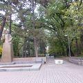 写真:28人のパンフィロフ戦士公園