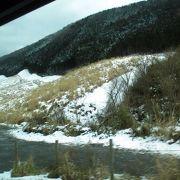 ススキ草原は台風被害の名残がありました。