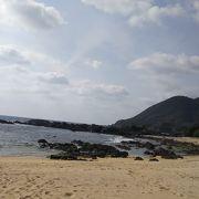 ハートロックから近いビーチ