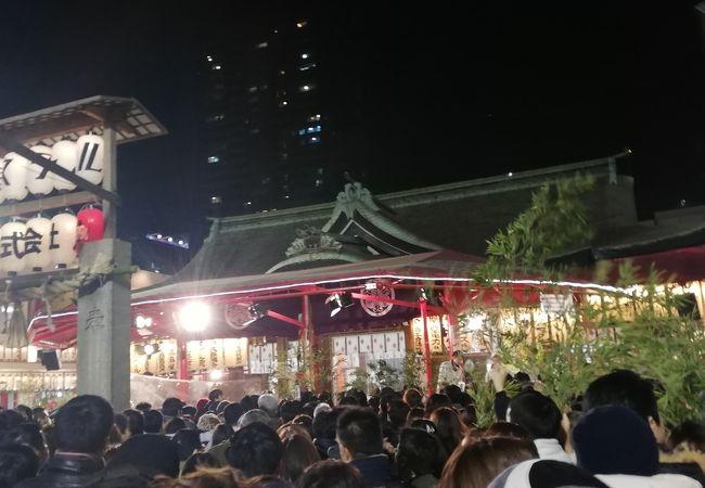 大阪の有名な十日戎