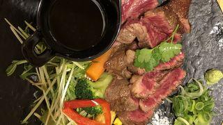 夫が食べたステーキ6000円
