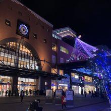 初めて夜の大分駅を訪れました。』by nanako|大分駅のクチコミ ...