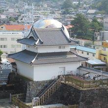 甲府城 稲荷櫓