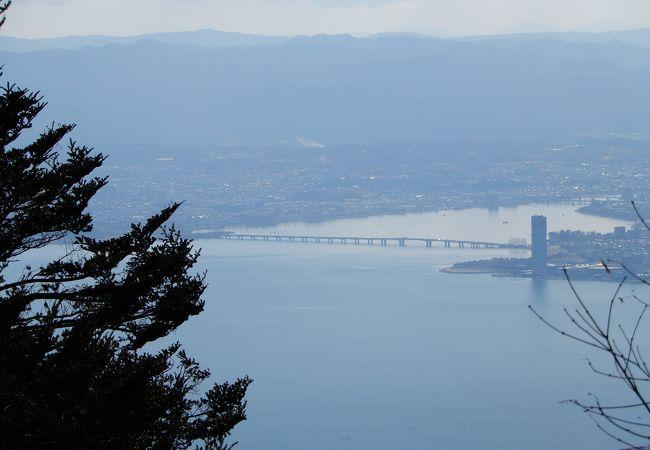 琵琶湖に架かる橋