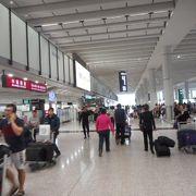 巨大空港 最低でもチェックインは60分前
