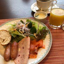 朝食 (ビュッフェ)