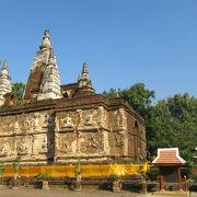 観光客が少なく、静かで落ち着く寺院