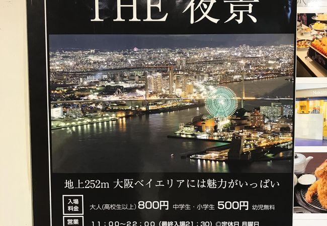 大阪府咲洲庁舎展望台(コスモタワー)
