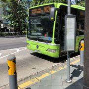 シンガポールでのバス移動