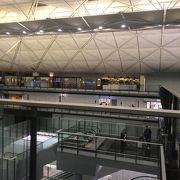 大きな空港