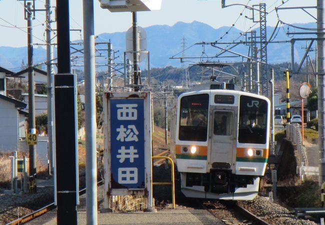 現在、無人駅の橋上駅舎(エレベーター・エスカレーター無し)