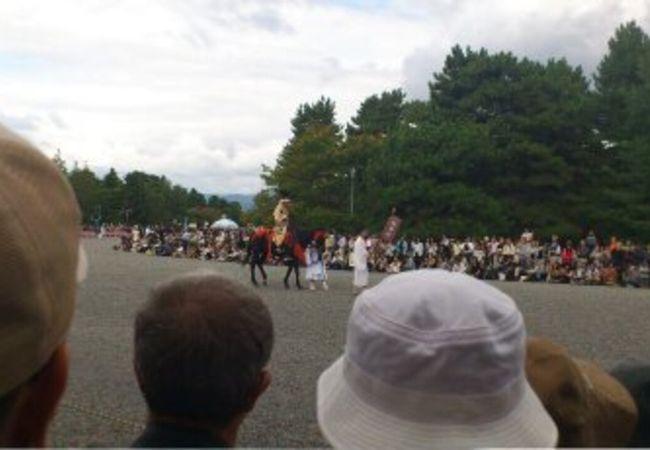 京都の三大祭りのひとつ