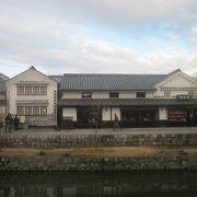 倉敷観光のハイライトといえる地区です