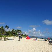 大変綺麗なビーチ