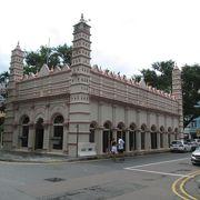 ピンクイメのイスラム教寺院