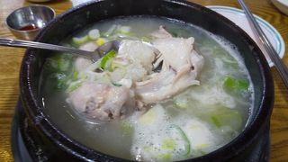 ジャンアンサムゲタン (長安参鶏湯)