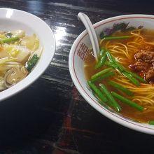 台湾ラーメンと中華飯ランチ