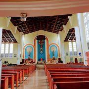 南国っぽい教会