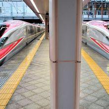 秋田新幹線ホーム