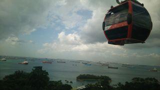 シンガポール ケーブルカー