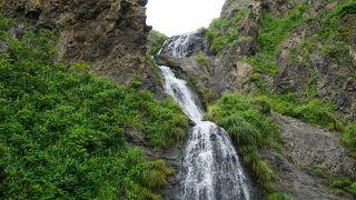 大ザレの滝