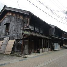 今庄宿・旧街道の町並