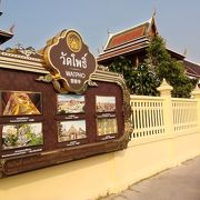 涅槃仏で有名な学問の寺院