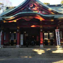 世田谷の神社