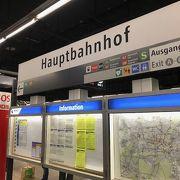 ミュンヘン中央駅 からSバーンでミュンヘン空港駅