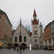 観光地の中心