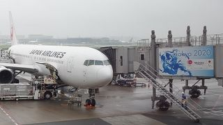 羽田空港第1ターミナル 一年後のオリンピックに向けて