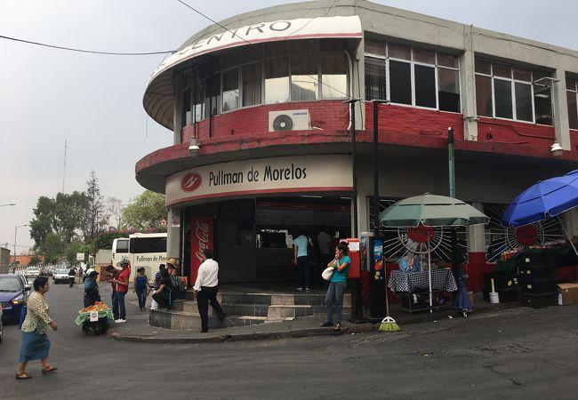クエルナバカ バスターミナル