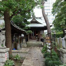 歴史ある厳かな雰囲気の神社