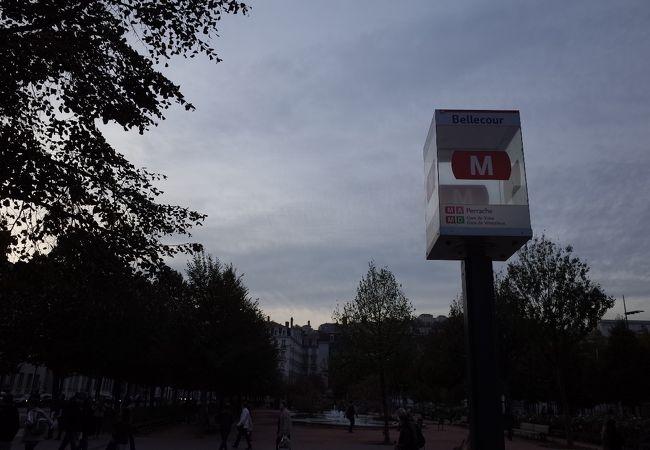 ベルクール駅 (地下鉄)