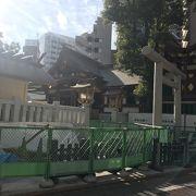 蒲田駅近く