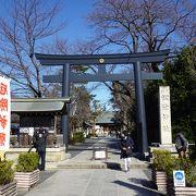 境内に松下村塾があります (松陰神社)