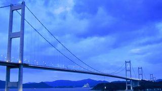 来島海峡大橋橋梁照明
