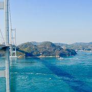 世界初の三連吊橋