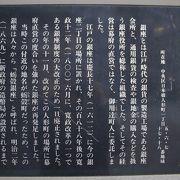 日本橋蛎殻町に銀座があった