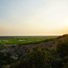 プノン・クロムの丘の夕景